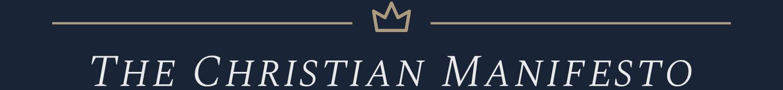 thechristianmanifesto.org